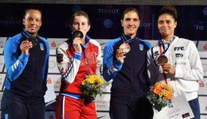 Ysaora remporte la médaille de bronze