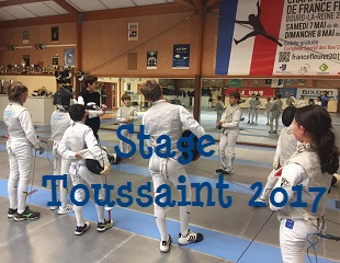 Stage Toussaint 2017